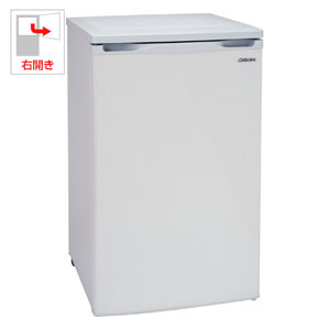 (標準設置料込)ACF-110E アビテラックス 100L 冷凍庫(フリーザー)直冷式 ホワイトストライプ Abitelax