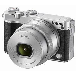 N1J5-LK-SL ニコン ミラーレス一眼カメラ「Nikon 1 J5」標準パワーズームレンズキット(シルバー) Nikon