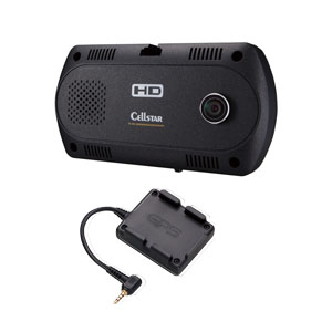 CSD-390HD GPS セルスター ツインカメラ搭載 ドライブレコーダー + GPSユニットセット CELLSTAR