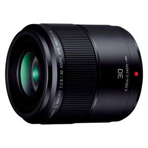 H-HS030 パナソニック LUMIX G MACRO 30mm/F2.8 ASPH./MEGA O.I.S. ※マイクロフォーサーズ用レンズ