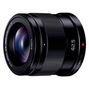 H-HS043-K パナソニック LUMIX G 42.5mm/F1.7 ASPH./POWER O.I.S.(ブラック) ※マイクロフォーサーズ用レンズ