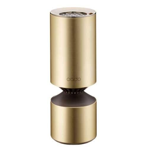MP-C20U-GD カドー PM2.5対応空気清浄機(車載・小スペースタイプ ゴールド) cado