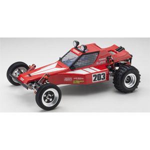 【再生産】1/10 電動RC組立キット ビンテージシリーズ 2WDレーシングバギー トマホーク【30615】 京商