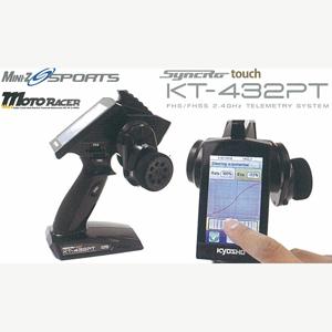 【再生産】Syncro Touch KT-432PT 送信機【82136】 京商