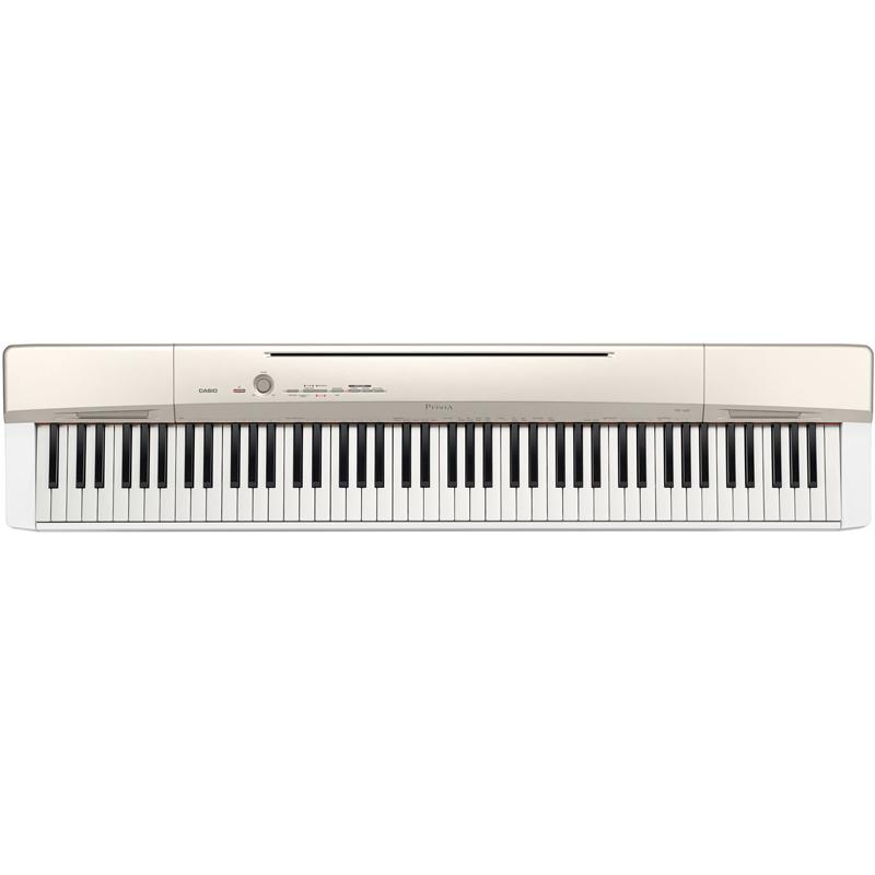 PX-160-GD カシオ 電子ピアノ(シャンパンゴールド調) CASIO Privia(プリヴィア)
