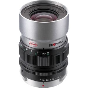 PROMINAR25MM_F1.8_SV コーワ KOWA PROMINAR 25mm F1.8(シルバー) ※マイクロフォーサーズ用レンズ