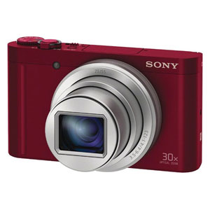 DSC-WX500-R ソニー デジタルカメラ「Cyber-shot WX500」(レッド)