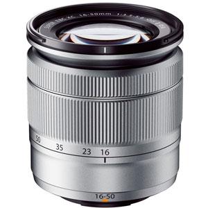FXC1650MMF3556OIS2S 富士フイルム フジノンXCレンズ「XC16-50mmF3.5-5.6 OIS II」(シルバー) ※富士フイルムXマウント用レンズ