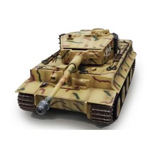1/16 大型戦車RC ドイツ重戦車 タイガーI 2.4GHz(赤外線バトルシステム付き) 童友社