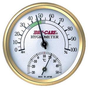 アナログシツドケイ トーリ 最安値 ハン 送料0円 アナログ湿度計 温度計付き