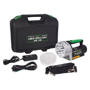 LEDL24WN 日動工業 充電式LED懐中電灯 2680ルーメン LEDサーチライト24W