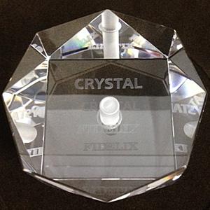"""CRYSTAL-STB フィデリックス レコードスタビライザー FIDELIX """"クリスタルスタビライザー"""""""