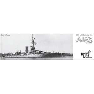 1/700 英 弩級戦艦 エイジャックス エッチングパーツ付き 1912【CS70477】 コンブリック