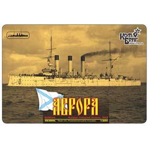 1/350 露 1等巡洋艦 オーロラ 1903 日露 フルハルモデル【CS35039F】 コンブリック