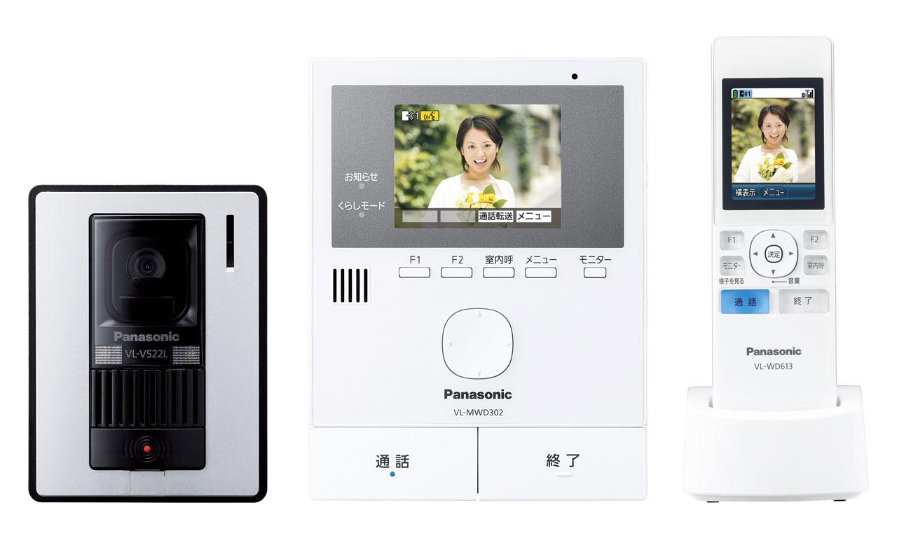 VL-SWD302KL パナソニック カラーテレビドアホン Panasonic どこでもドアホン