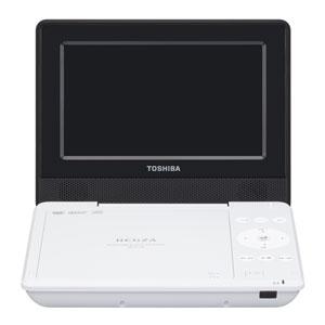 SD-P710SW (ホワイト) REGZA ポータブルDVDプレーヤー 東芝 (レグザ)