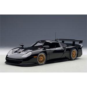 1/18 ポルシェ 911 GT1 1997年 プレーンボディ(ブラック)【89770】 オートアート