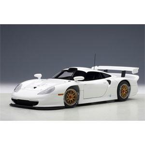 1/18 ポルシェ 911 GT1 1997年 プレーンボディ(ホワイト)【89771】 オートアート