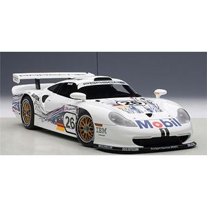 1/18 ポルシェ 911 GT1 ル・マン24時間 1997年 #26(コラード/ケレナーズ/ダルマス)【89773】 オートアート