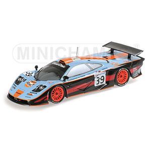 1/18 マクラーレン F1 GTR GULF TEAM DAVIDOFF BELLM/G.SCOTT/関谷 ルマン24h 1997【530133739】 ミニチャンプス