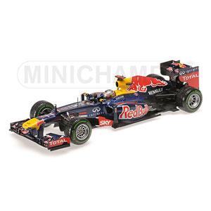 1/18 レッドブル レーシング ルノー RB8 S.ベッテル ブラジルGP 2012 ワールドチャンピオン【110120101】 ミニチャンプス