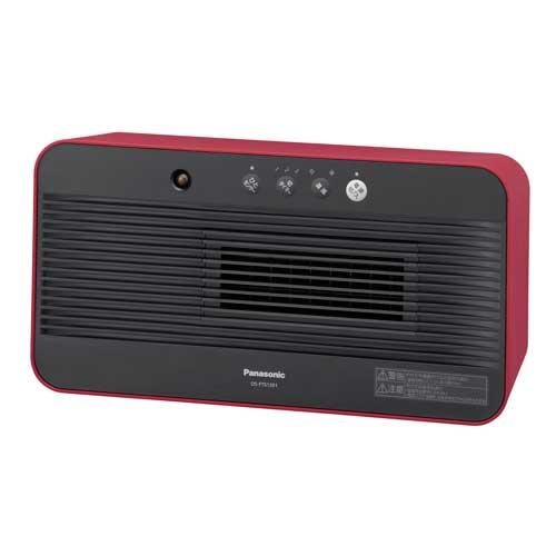 DS-FTS1201-R パナソニック ひとセンサー搭載セラミックファンヒーター(レッド) 【暖房器具】Panasonic