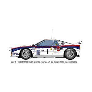1/12 フルディティールキット Rally 037 Ver.A 1983 WRC Rd.1 Monte Carlo #1 Rohr/Geistdorfer【K489】 モデルファクトリーヒロ