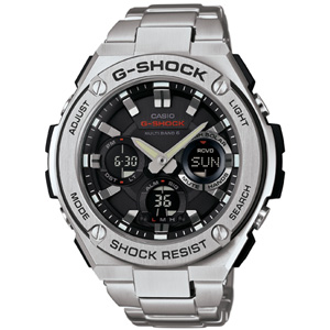 GST-W110D-1AJF カシオ 【国内正規品】G-SHOCK(ジーショック) G-STEEL Gショック ソーラー電波時計 メンズタイプ [GSTW110D1AJF]【返品種別A】