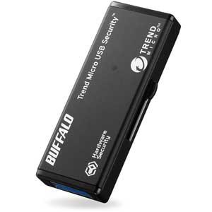 RUF3-HSL8GTV5 バッファロー ハードウェア暗号化機能搭載 セキュリティーUSBメモリ 8GB(5年保証モデル)
