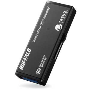 RUF3-HSL16GTV5 バッファロー ハードウェア暗号化機能搭載 セキュリティーUSBメモリ 16GB(5年保証モデル)