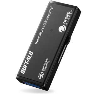 RUF3-HSL16GTV3 バッファロー ハードウェア暗号化機能搭載 セキュリティーUSBメモリ 16GB(3年保証モデル)