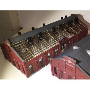 [鉄道模型]フローベルデ (HO) 434 旧丸山変電所 B棟 蓄電地室 (ペーパー製未塗装組立キット)