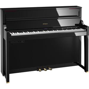 LX-17-PES ローランド 電子ピアノ(黒塗鏡面艶出し塗装仕上げ)【高低自在椅子&楽譜集付き】 Roland Piano Digital