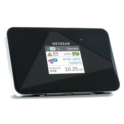 AC785-100JPS ネットギア AirCard LTE対応 SIMフリー モバイルホットスポット(モバイルルーター)