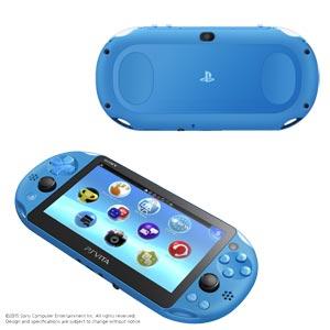 PlayStation(R)Vita Wi-Fiモデル アクア・ブルー ソニー・コンピュータエンタテインメント [PCH-2000ZA23 PSVホンタイブルー]
