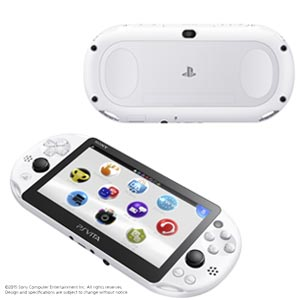 PlayStation(R)Vita Wi-Fiモデル グレイシャー・ホワイト ソニー・コンピュータエンタテインメント [PCH-2000ZA22 PSVホンタイホワイト]