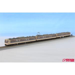 [鉄道模型]六半 (Z) T011-10 115系1000番代 岡山更新色 3両セット