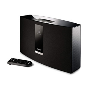SOUNDTOUCH20 3BLK ボーズ Wi-Fi/Bluetooth対応ワイヤレススピーカー(ブラック) BOSE SoundTouch 20 Series III wireless music system