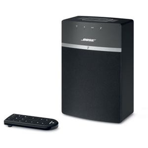 SOUNDTOUCH10BLK ボーズ Wi-Fi/Bluetooth対応ワイヤレススピーカー(ブラック)サウンドタッチ10 BOSE SoundTouch 10 Series wireless music system