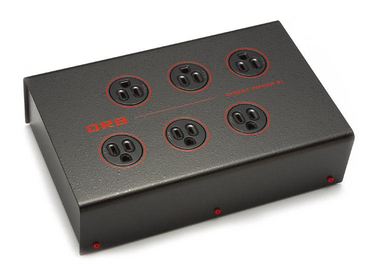 DP-6I オーブ 3P-6口電源タップ(無メッキモデル) ORB Power Tap DP-6i series