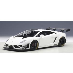 1/18 ランボルギーニ ガヤルド GT3 FL2 2013 (ホワイト)【81358】 オートアート