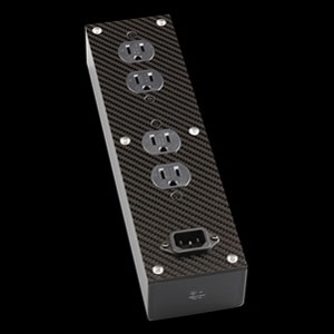 CP-PB2/AG オールージュ 電源タップ(4口)【銀メッキコンセント仕様】 EAU ROUGE