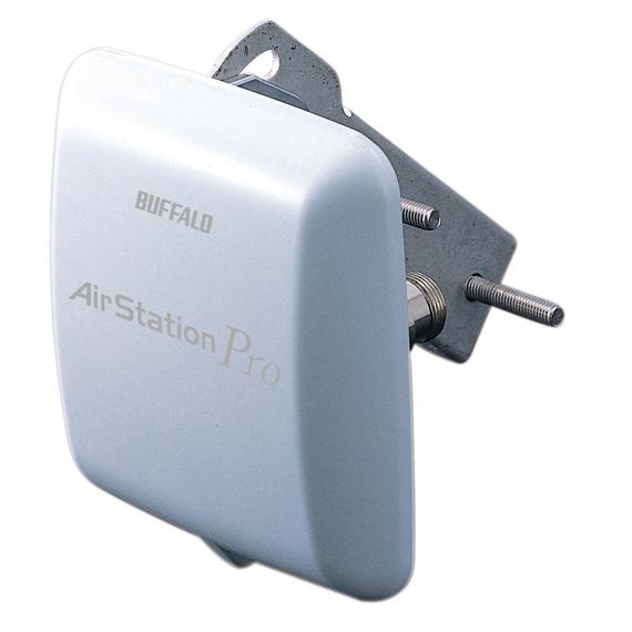 WLE-HG-DA/AG バッファロー 5.6GHz/2.4GHz無線LAN 屋外遠距離通信用 平面型アンテナ エアステーション プロ