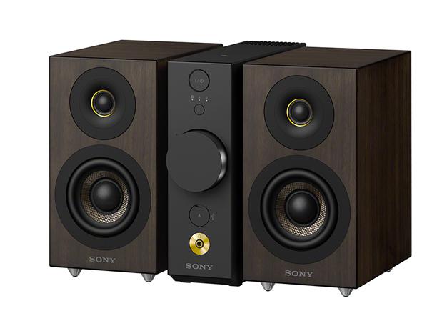 CAS-1-BC ソニー セパレートタイプ Bluetoothスピーカー コンパクトオーディオシステム(ブラック) SONY