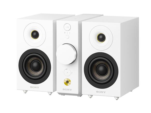CAS-1 WC ソニー セパレートタイプ Bluetoothスピーカー コンパクトオーディオシステム(ホワイト) SONY
