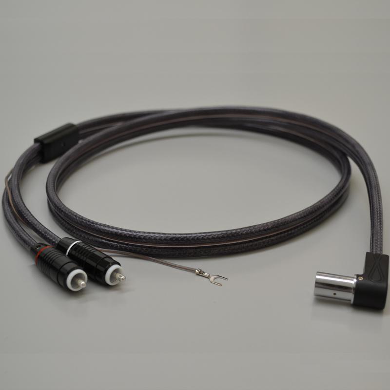 HBC-MS5000LDR イケダ フォノケーブル(1.2m)【L型5pin端子⇔RCA端子】 IKEDA