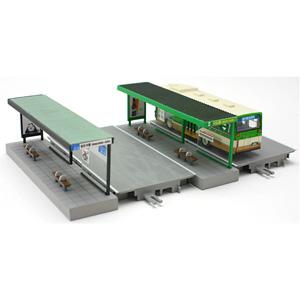 年間定番 鉄道模型 トミーテック N バス停C 最新号掲載アイテム 情景小物122