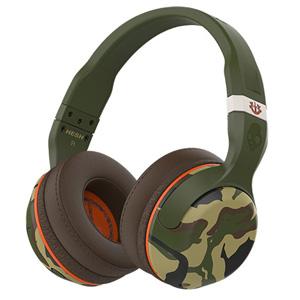 S6HBGY-367 スカルキャンディ Bluetooth ワイヤレスダイナミック密閉型ヘッドホン(カモフラージュ) Skullcandy Hesh 2 Wireless with Mic1 Camo