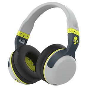 S6HBGY-384 スカルキャンディ Bluetooth ワイヤレスダイナミック密閉型ヘッドホン(グレー/ホットライム) Skullcandy Hesh 2 Wireless with Mic1 Gray/Hot Lime