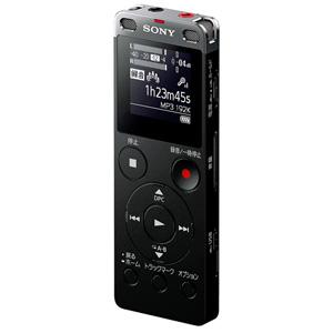 ICD-UX565FBC ソニー リニアPCM対応ICレコーダー8GBメモリ内蔵+外部マイクロSDスロット搭載(ブラック) SONY